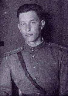 Младший лейтенант Григорий Литинский, 1944 год.