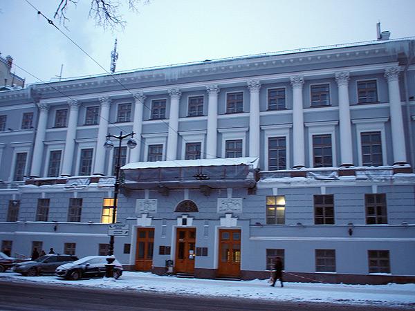 Петербург, ул. Гороховая, д. 2.