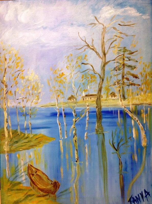 Таня Фиш. Наводнение
