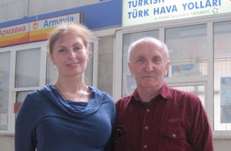 Вера Зубарева и Анатолий Глущак