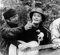 Алиса Мессерер в Москве в 1980 г.