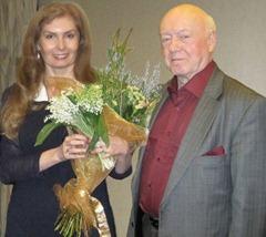 Вера Зубарева и Борис Мессерер