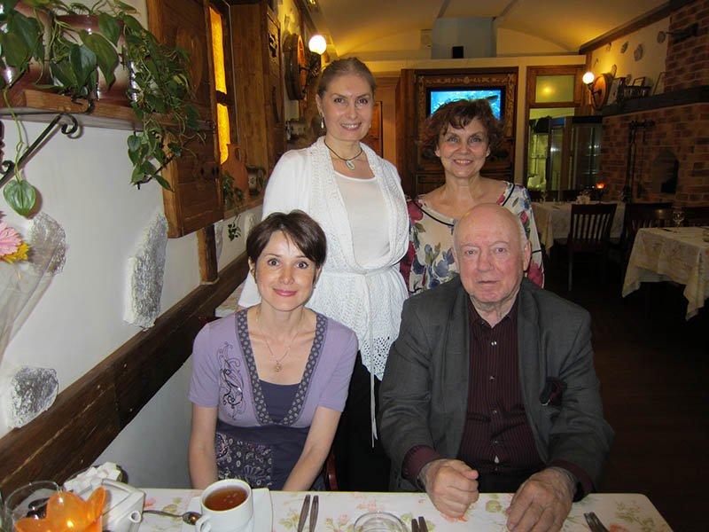Наталья Лайдинен, Борис Мессерер, Вера Зубарева, Ирина Егорова