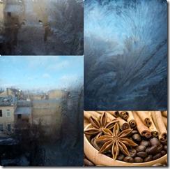 Людмила Шарга - collage вьюжные зарисовки