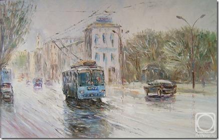 Людмила Бекасова. Голубой троллейбус