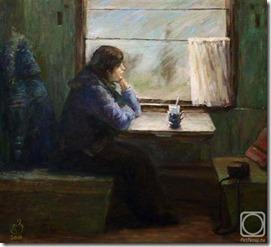 Алёна Захарова. В поезде