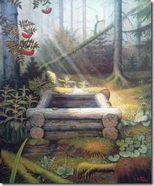 Степан Владимирович Каширин. Колодец в лесу