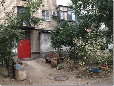 дом на улице Ушакова, 64, где жил Василиск Гнедов со своей второй женой, Марией Соболевской