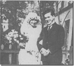 К. Родзевич с невестой М. Булгаковой