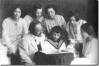 Семья Е.Н.Чирикова (1912-1913)