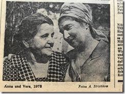 Anna and Vera 1975