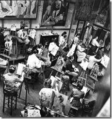 Академия Андрэ Лотэ, 1930-ые гг.