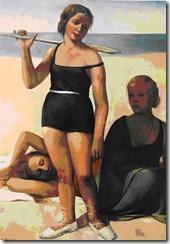 На пляже. 1933 г.