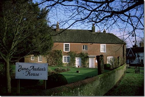 Дом-музей Джейн Остин в Гэмпшире